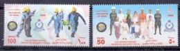 2005 OMAN Civil Defense Complete Set 2 Values MNH - Oman