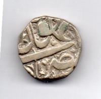 INDE - BHOPAL, 1 Rupee, Silver, (AH 1305), Year 16, KM #14 - India