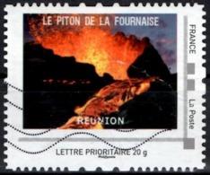 FRANCE Montimbramoi Personalized Piton De La Fournaise Volcans Mountain Volcanoes Vulkane Vulkaan Volcanes - Volcans