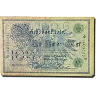 Billet, Allemagne, 100 Mark, 1908, 1908-02-07, KM:34, TB - 100 Mark