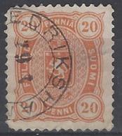 Finlandia U   23 (o) Usado. 1885 - 1856-1917 Russian Government