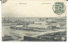 CPA - CHERBOURG - 50 MANCHE - ARSENAL MARITIME - Cherbourg