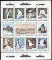 Argentine Argentinie 1980 Yvertn° Bloc 25 *** MNH Cote 17,50  Euro Faune Antarctique - Blocs-feuillets