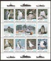 Argentine Argentinie 1980 Yvertn° Bloc 26 *** MNH Cote 17,50  Euro Faune Antarctique - Blocs-feuillets