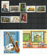 Année Complète 2013.  Neufs **  Inclus Deux Blocs-Feuillets ** Jazz En Andorre & Correspondance Postale. Côte 44,00 Euro - Spanish Andorra