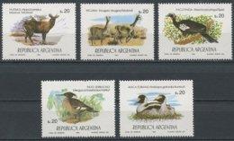 Argentine Argentinie 1984 Yvertn° 1430-1434 *** MNH Cote 5,00  Euro Faune Oiseaux Vogels Birds - Neufs