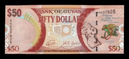 Guyana 50 Dollars 2016 Commemorative Pick 41 Serie AA SC UNC - Guyana