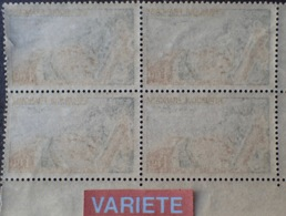 R1591/464 - 1963 - LE TOUQUET PARIS PLAGE - BLOC N°1355 TIMBRES NEUFS**/* - VARIETE ➤➤➤ Impression RECTO-VERSO Légère - Varieties: 1960-69 Mint/hinged