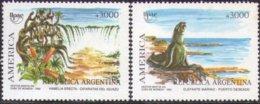 Argentine Argentinie 1990 Yvertn° 1731-1732 *** MNH Cote 5,00  Euro Faune Flore - Neufs