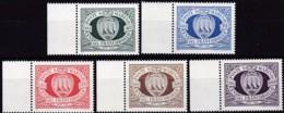 1977, San Marino, 1139/43,  MNH **,  100 Jahre Briefmarken Von San Marino - San Marino
