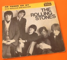 Vinyle 45 Tours The Rolling Stones As Tears Go By (1966) - Vinyles