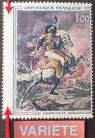 R1591/470 - 1962 - GERICAULT - N°1365 NEUF** - VARIETE ➤➤➤ Piquage Très Décalé - Errors & Oddities