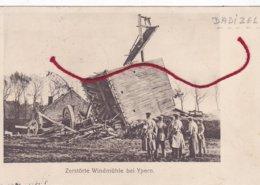 Dadizele Moorslede Zerstörte Windmühle Molen Mill Moulin Duitse Postkaart Feldpost - Moorslede