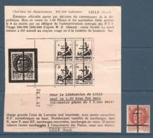 036- Timbre Libération - Nord - 1944 - Libération