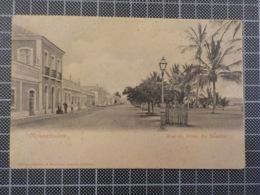 11.652) Angola Africa Portuguesa Mossamedes Rua Da Praia Do Bomfim Ed. Osorio Delgado E Bandeira - Angola