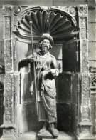 CLERY SAINT ANDRE La Basilique Notre Dame Statue En Bois  (scan Recto-verso) Ref 1120 - Other Municipalities