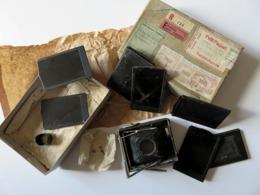 494 - Accessoires Appareil Contessa Nettel Duchessa - Chambre - Plaques… Colis EMA Paillard Suisse/Douane/Recommandé - Supplies And Equipment