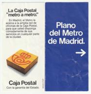 GUIA DEL METRO CARTE GUIDE PLAN  - PLANO RED METRO MADRI - 1982 - Otros