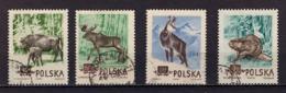 Satz, Geschuetzte Tiere, Entwertet, 1954 (80168) - 1944-.... Republik