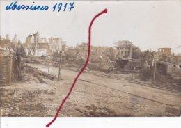 Wijtschate Heuvelland Zerstörung Duitse Fotokaart Feldpost - Heuvelland