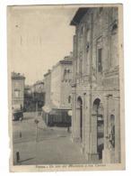 972 - PARMA UN LATO DEL MUNICIPIO E VIA CAVOUR ANIMATA 1933 - Parma