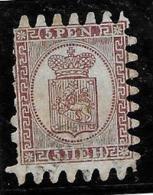 "Finlande 1866-70 "" 5 P."" Yvert 5, Dent Percés En Serpentins, Oblitere - 1856-1917 Russian Government"