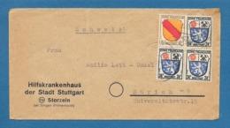 1946 ZONE FRANCAISE SINGEN HOHENTWIEL TO ZURICH - Zona Francese