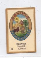 BOLIVIA / BOLIVIEN - Staatswappen, Abdulla Sammelbild / Cinderella - Bolivien