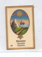 ECUADOR - Staatswappen, Abdulla Sammelbild / Cinderella - Ecuador