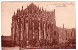 NORT-SUR-ERDRE - L'abside De L'église - Nort Sur Erdre