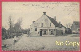 Cluysen Kluizen Belgique Belgien : Dorpsplaats -  Handel  -  Feldpost Guerre De 1914-18 - Evergem