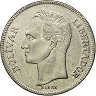 Monnaie, Venezuela, 5 Bolivares, 1977, TTB, Nickel, KM:53.1 - Venezuela