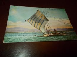 B737  Zamboange Filippine Imbarcazione Moro Vinta Cm14x9 Lievi Impefezioni Ad Angoli - Filippine