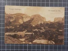 11.660) Angola Africa Portuguesa Pungo-Andongo Um Aspeto Da Vila Ed. Ferreira Ribeiro & Osório /defeito - Angola