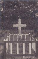Jemappes Mons Grab Von 23 Aug  1914 Cimetière Tombeau .Carte Photo Allemande  Feldpost . - Mons