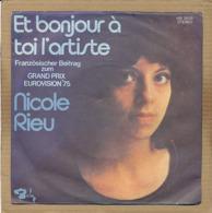"""7"""" Single, Nicole Rieu - Et Bonjour A Toi L'artiste - Disco, Pop"""