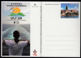 Croatia 2019 / 16th European Guide And Scout Conference Split / Postal Stationery - Croatia