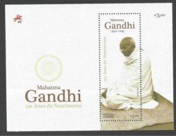 Portugal 2019 , Mahatma Gandhi - 150 Anos Do Nascimento - Sheet - Postfrisch / MNH / (**) - Ungebraucht