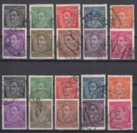 Yugoslavia Kingdom King Alexander 1931 Mi#228-237 I And II - With And Without Inscription On The Bottom, Used - Gebraucht