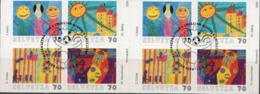 Switzerland Cancelled Booklet - Fairy Tales, Popular Stories & Legends