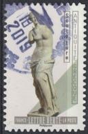 France 2019 Oblitéré Rond Daté Used Le Nu Dans L'Art Sculpture Antiquité Grecque SU - Frankreich
