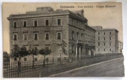 CIVITAVECCHIA VIALE GARIBALDI PALAZZO ABRUZZESI 1911 - Civitavecchia