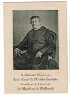 Révérend M. Jean Corneille Martin LAMBERTZ - Fondateur Ursulines Thildonck - Hoogstraeten 1785 / 1869 - 2 Scans - Devotion Images