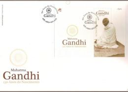 Portugal & FDCB 150 Years Of Mahatma Gandhi Birth 1869-2019 (3410) - Mahatma Gandhi
