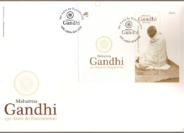 Portugal & FDCB 150 Years Of Mahatma Gandhi Birth 1869-2019 (3410) - FDC