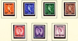 QATAR  -  1960 Defibitives Set Unmounted/Never Hinged Mint - Qatar
