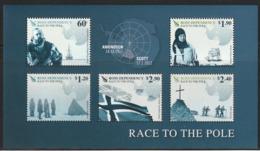 TERRE De ROSS - BLOC N° 3 ** (2011) Expédition Vers Le Pôle Sud - Dépendance De Ross (Nouvelle Zélande)