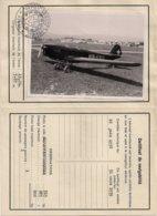Aviation - Certificat De Navigabiité Pour Avion Klemm - HB-UXU - Certificados De Vuelo