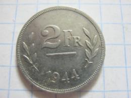 2 Francs 1944 - 1934-1945: Leopold III