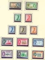 FIJI  -  1959-63 Definitives Set Unmounted/Never Hinged Mint - Fidji (...-1970)